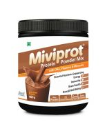 Shrey's Miviprot Protein Powder with DHA, Vitamins & Minerals 400 g (Chocolate Flavour)