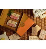 Horeca Soaps Cold Process Handmade Soap Gift Set - Lavender & Rosemary 200gm