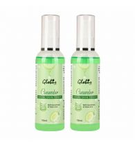 Globus Naturals Cucumber Facial Skin Toner With Goodness Of Aloe Vera Extract 100 ml (Pack Of 2)