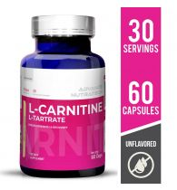 Advance Nutratech L-Carnitine L-Tartrate Supplement Unflavored 60 Capsules