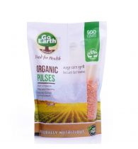 Go Earth organic Masoor Whole Dhuli 500gm