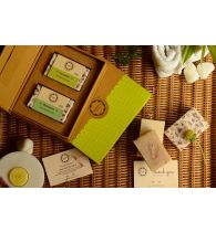Horeca Soaps Cold Process Handmade Soap Gift Set - Peppermint & Cinnamon 200gm