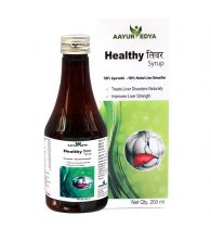 AAYURVEDYA Healthy Liver - 200 ml Detox for Fatty Liver, Indigestion and for Healthy Liver Function, A Complete Liver Cleanser