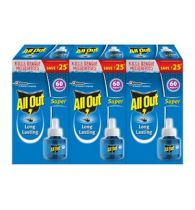 All Out Super Long Lasting - 60 Nights 45ml (Triples Pack)