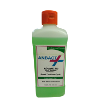 Anbact Advanced Hand Sanitizer 500ml Kills 99.99% of Germs (Green Apple Gel)