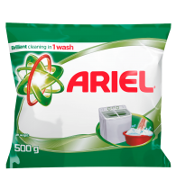 Ariel Brilliant Stain Removal in 1 Wash 500gm