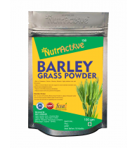 NutrActive 100% Pure Barely Grass Powder - 100 g