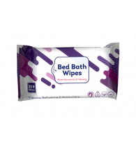 Wiclenz Bed Bath Wipes XL - Set of 10 Wipes - Pack of 2