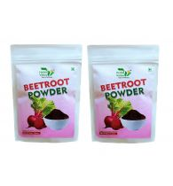Indian Herbal Valley Natural, Pure and Real Beetroot Powder (Pack of 2) 50g Each