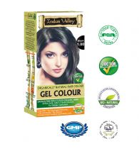 Indus Valley Organically Natural Gel Black 1.00 Halal Hair Color