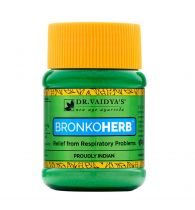 Dr. Vaidya's Bronkoherb Powder Ayurvecic Relief from Asthma & Respiratory Problems - Pack of 2