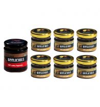 Beelicious Honey with Cinnamon - 1x250 grams + Honey with Ginger - 6x30 grams Each