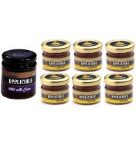 Beelicious Honey with Clove - 1x250 grams + Classic Premium Honey - 6x30 grams Each