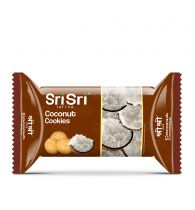 Sri Sri Tattva Coconut Cookies - 60gm