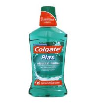 Colgate Mouthwash Plax Fresh Mint Alcohol Free 500ml