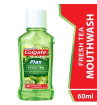 Colgate Mouthwash Plax Fresh Tea Alcohol Free 60ml