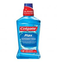 Colgate Mouthwash Plax Pepper Mint Alcohol Free 250ml
