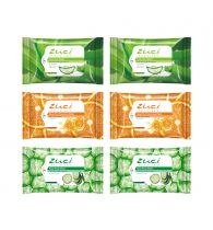 Zuci Wet Wipes Pack of 6 (2-Cucumber, 2-Aloevera and 2-Citrus Wipes)