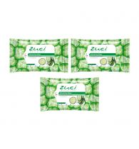 Zuci Cucumber Mint Wet Wipes - Pack of 3