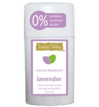 Indusvalley natural Lavender Deostick with no parabene, no aluminium, no alcohol