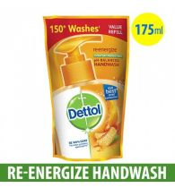 Dettol Hand Wash Ph Balanced Re-Energize 175ml