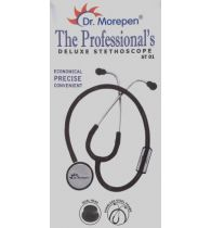 Dr. Morepen The Professional's Deluxe ST-01 Acoustic Stethoscope  (Grey)