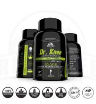 Riverlife Dr. Knee Natural Joint Pain Reliever Medicine - Increases Synovial Fluid to Help with Joint Movement (60 Capsules | 1month pack)