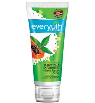Everyuth Naturals Purifying & Exfoliating Neem Papaya Scrub 100gm