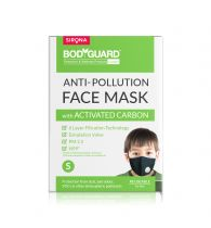 BodyGuard Small N99 + PM2.5 Anti Pollution Face Mask - 1 Unit, with 6 Layer Protection Activated Carbon