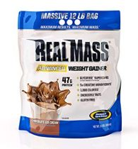 Gaspari Nutrition Real Mass Advanced, 12lbs Chocolate Ice Cream