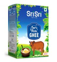 Sri Sri Tattva Ghee - 500ml Ceka Pack