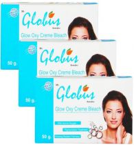 Globus Glow Oxy Cream Bleach Pack of 3