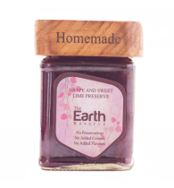 The Earth Reserve All Natural Grape & Sweet Lime Preserve - 150 gm