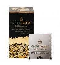 Greenbrrew Carte Blanche Instant Green Coffee Beans Extract For Weight Loss - 20 Sachets 60gm