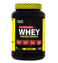 Healthvit Fitness 100% Ultra Premium Whey Protein - 1kg/2.2lbs (Chocolate Flavour)
