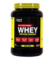 Healthvit Fitness 100% Ultra Premium Whey Protein - 2kg/4.4lbs (Chocolate Flavour)