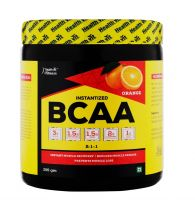 Healthvit Fitness BCAA 6000, 200g (25 Servings) tangy Orange