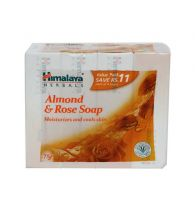 Himalaya Almond & Rose Soap 4x75gm