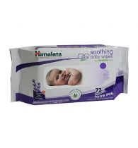 Himalaya Soothing Baby Wipes 72s