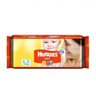 Huggies Dry Taped Diapers Large Size 5Pieces