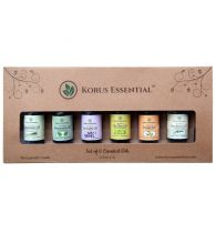 Korus Essential Aromatherapy Essential Oil (Combo Of 6)