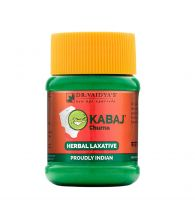 Dr. Vaidya's Kabaj Churna - Ayurvedic Churna for Constipation & Indigestion - Pack of 2