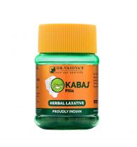 Dr. Vaidya's Kabaj Pills - Ayurvedic Treatment for Constipation & Indigestion - Pack of 2