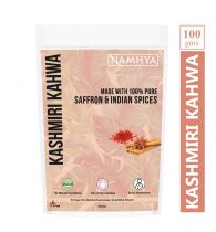 Namhya Kashmiri Kahwa (Made With 100% Pure Saffron & Indian Spices) - 100gm