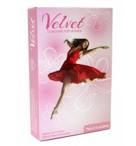 Moods Velvet Female Condoms Condom (3S)