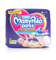 MamyPoko Pants Extra Absorb Diaper Small Size pack 17