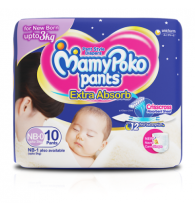 MamyPoko Pants  New born NB-0 (10 Pieces )