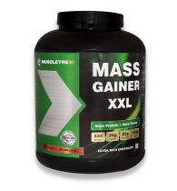 Muscletrex Mass Gainer XXl, Extra Rich Chocolate - 3 Kg (6.6 lbs)