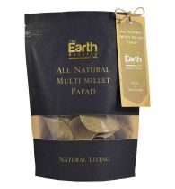 The Earth Reserve All Natural Multi Millet Papad - 100gm