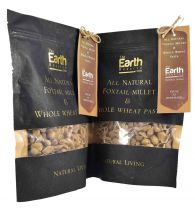 The Earth Reserve All Natural Foxtail Millet & Whole Wheat Pasta (Pack of 2) - 250gm